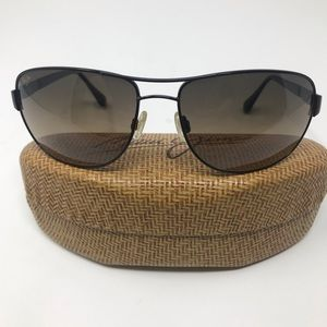 Maui Jim Aviator Sand Island Sunglasses